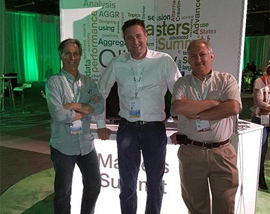 With Rob Wunderlich and Barry Harmsen from the Masters Summit team